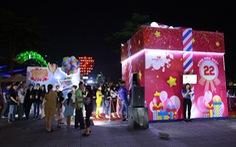 Hộp quà khổng lồ Co.opmart bất ngờ xuất hiện tại Đà Nẵng