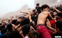 Đề nghị bỏ tục đập đầu, giết mổ trâu sau lễ hội ở Phú Thọ