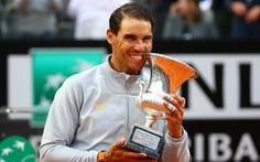 Được trời 'giúp sức', Nadal vô địch Italian Open