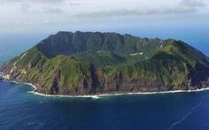 Ngỡ ngàng Đảo núi lửa Aogashima ở Nhật Bản