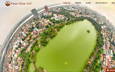 Tham quan Hà Nội bằng ứng dụng trực tuyến 360 độ