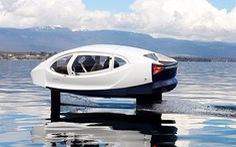 Taxi trên sông của tương lai trông ra sao?