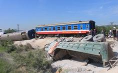 Đã thông đường sắt qua Thanh Hóa sau tai nạn lật tàu