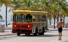 Rong ruổi khắp nước Mỹ bằng xe Trolley