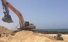 Israel xây đê 3 tầng trên biển ngăn dân Palestine ở Dải Gaza