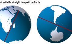Tìm thấy đường biển dài nhất nằm trên một đường thẳng