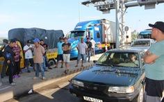Ùn tắc 3 ngày, BOT Ninh Lộc giảm mức phí của Tổng cục Đường bộ