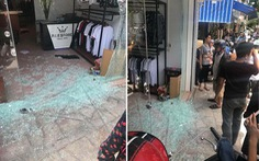 Điều tra nghi vấn nổ súng vào tiệm thời trang tại Thanh Hóa