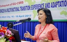 Nữ phó giáo sư 44 tuổi làm hiệu trưởng ĐH KHXH&NV