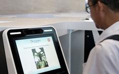Sân bay Singapore sử dụng hệ thống nhận dạng khuôn mặt để xác định hành khách đến muộn