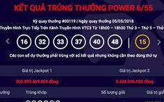 Vé số Vietlott trúng thưởng 303 tỉ được bán tại Hà Nội