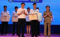Nguyễn Hoàng Phúc giành quán quân hội thi 'Thủ lĩnh sinh viên toàn quốc'