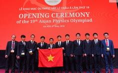 25 quốc gia, vùng lãnh thổ dự Olympic Vật lí châu Á tại Việt Nam