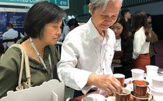 Ấn tượng phin cà phê sứ Minh Long tại Cafe Show Vietnam 2018