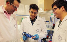 Chế tạo thành công máy in 3D cầm tay có thể in da người