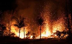 Video Toàn cảnh núi lửa Klauea phun trào dữ dội tại Hawaii