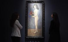 Bức họa nude của Picasso bán được 115 triệu USD