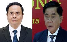 Bầu bổ sung ông Trần Cẩm Tú và ông Trần Thanh Mẫn vào Ban Bí thư