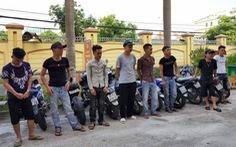 Phạt nhóm rước dâu lạng lách trên quốc lộ hơn 35 triệu đồng