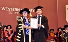 Cựu học sinh Trường Á Châu giành học bổng Western Sydney University