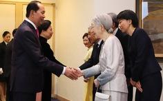 Nhà vua Nhật Bản dự tiệc kỷ niệm 45 năm quan hệ Việt - Nhật