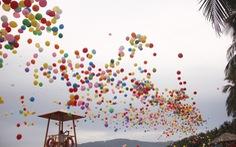 'Bóng ước mơ' của hơn 600 em nhỏ khuyết tật được thả lên trời