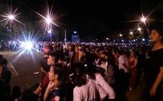 Hàng ngàn người tiếp tục gây rối trước UBND tỉnh Bình Thuận