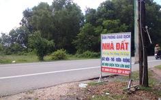 Thêm nhiều địa phương tạm dừng phân lô tách thửa