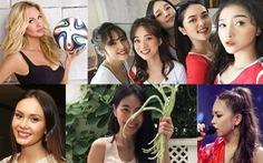 14-6: vợ Công Vinh, bạn gái Quang Hải và hot girls World Cup nóng bỏng