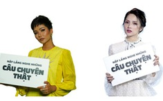 H'Hen Niê, Hương Giang kêu gọi xây cầu, dừng nạn đuối nước