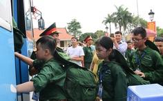 200 'chiến sĩ nhí' Thanh Hóa bước vào Học kỳ quân đội