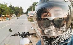 Nữ phượt thủ xuyên Việt độc hành bằng xe máy