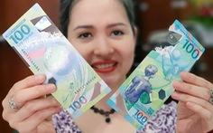 Tiền 100 rúp Nga kỷ niệm World Cup được săn lùng ở Sài Gòn
