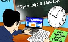 Định luật II Newton -  tiết dạy đầu đời