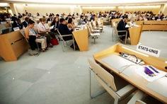 Các nước bảo vệ Hội đồng nhân quyền LHQ sau khi Mỹ rút