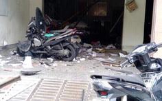 Video cảnh vụ nổ tại trụ sở công an phường 12 Tân Bình