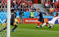 Pháp - Peru 1-0: Bỏ lỡ nhiều cơ hội, Peru chia tay World Cup 2018
