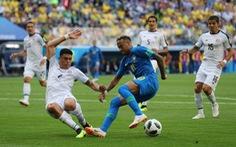 Brazil - Costa Rica 2-0: 6 phút bù giờ Brazil ghi 2 bàn