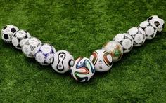 Đi tìm trái bóng chính thức tốt nhất trong các kỳ World Cup