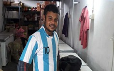Tìm thấy thi thể fan Messi tự tử bên bờ sông