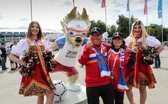 Không lọt vào World Cup, fan Trung Quốc vẫn đông hơn fan Anh tại Nga
