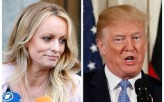 Cô đào phim khiêu dâm xì-căng-đan với ông Trump tính gặp công tố viên