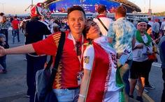 Theo chân chàng trai Việt tận hưởng không khí World Cup 2018