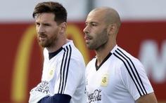 'Messi không vui!'