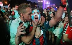 Ở Fan Fest, cổ động viên Argentina gọi tên Messi, Banega và Mascherano