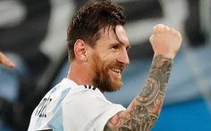 Lập siêu phẩm, Messi bây giờ mới bắt đầu World Cup!