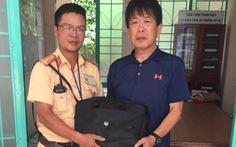 CSGT Đà Nẵng tìm du khách Nhật đánh rơi tài sản để trao trả