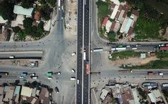 Thông xe cầu vượt Mỹ Thủy giải tỏa điểm đen kẹt xe