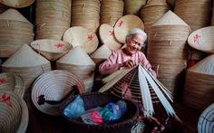 Ảnh 'ngoại đan nón lá' lên National Geographic