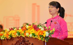 Bà Trần Thị Diệu Thúy tái đắc cử chủ tịch Liên đoàn lao động TP.HCM